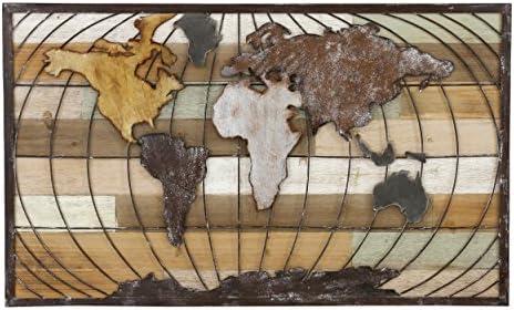 Aspire D cor Marco World Map Wall Decor