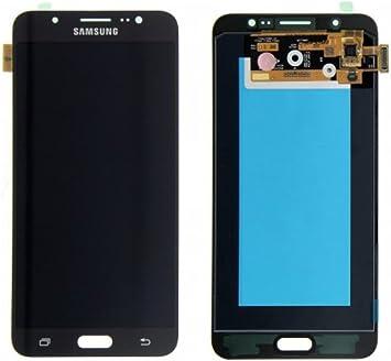 Samsung GH97-18855B - Pantalla táctil LCD para Samsung Galaxy J7 (2016) J710F J710 AMOLED, color negro: Amazon.es: Electrónica