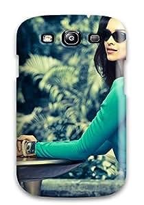 For Galaxy S3 Premium Tpu Case Cover Deepika Padukone Vogue Eyewear Protective Case