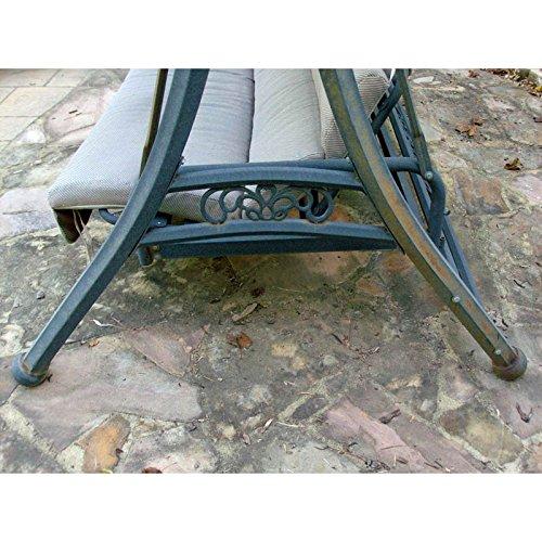 [해외]곡선 이불 이불 교체 용 캐노피/Curved Roof Futon Swing Replacement Canopy