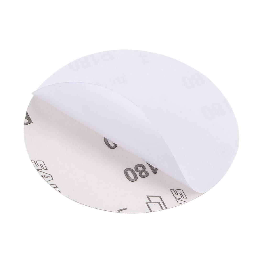 uxcell 5-Inch PSA Sanding Disc Aluminum Oxide Adhesive Back Sandpaper 60 Grit 15 Pcs