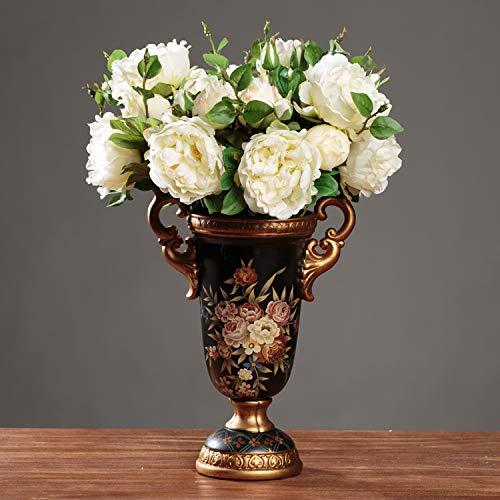Mountain head アメリカの国の装飾工芸品装飾北欧ヨーロッパのレトロなセラミック花瓶創造的な耳の耳の花瓶 Mountain head B07QJ9C2SQ