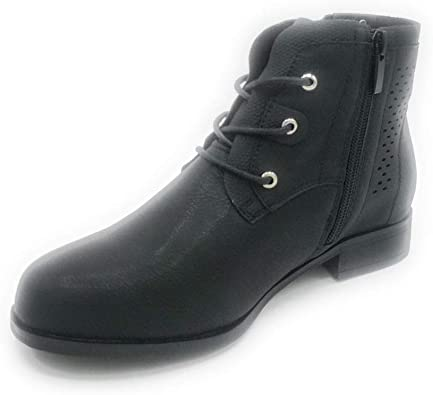 Shoe West Sweat Leather Laced up Boots