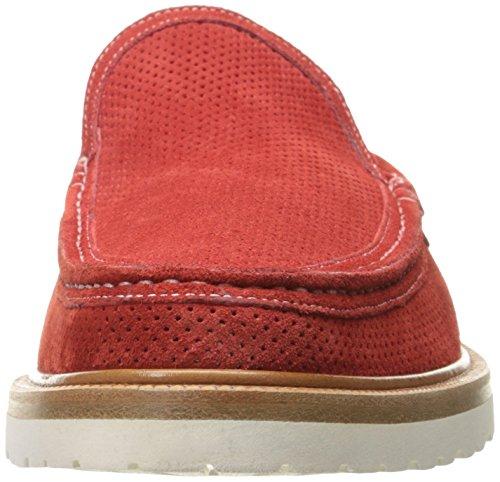 Mocassino Slip-on A.testoni Uomo M60453dum Rosso