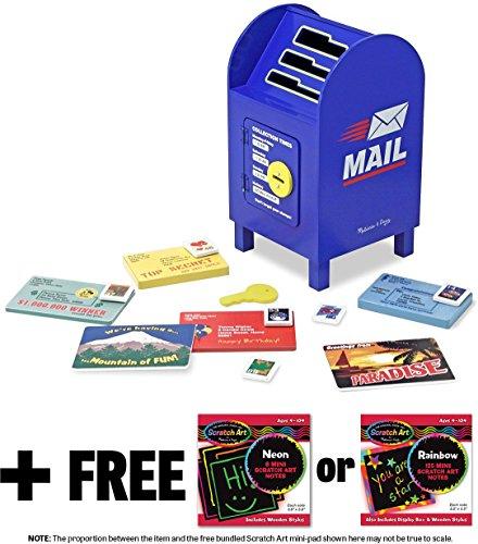 Mailbox Melissa Doug Scratch Mini Pad product image