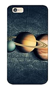 Defender Case With Nice Appearance (solar System ) For Iphone 6 / Gift For New Year's Day