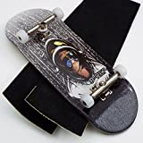 P-Rep SPACE MONKEY 34mm Complete Wooden Fingerboard w CNC Lathed Bearing Wheels …