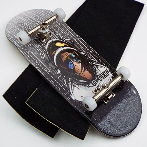Peoples Republic P-REP Tuned Complete Wooden Fingerboard 34mm x 100mm - Space Monkey