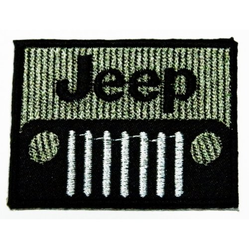 Jeep Motorsport Racing Embroidered Patches