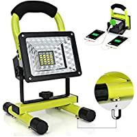 Hallomall 24 LED Rechargeable Work Light with Magnetic Stand