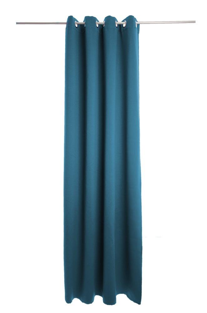 Denton rideau couleur :  bleu pé trole Denton rideau couleur :  bleu pétrole Homing