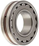 SKF 22208 E Explorer Spherical Roller Bearing, Straight Bore, Standard Tolerance, Steel Cage, Normal Clearance, Metric, 40mm Bore, 80mm OD, 23mm Width, 11000rpm Maximum Rotational Speed, 22000lbf Static Load Capacity, 22900lbf Dynamic Load Capacity
