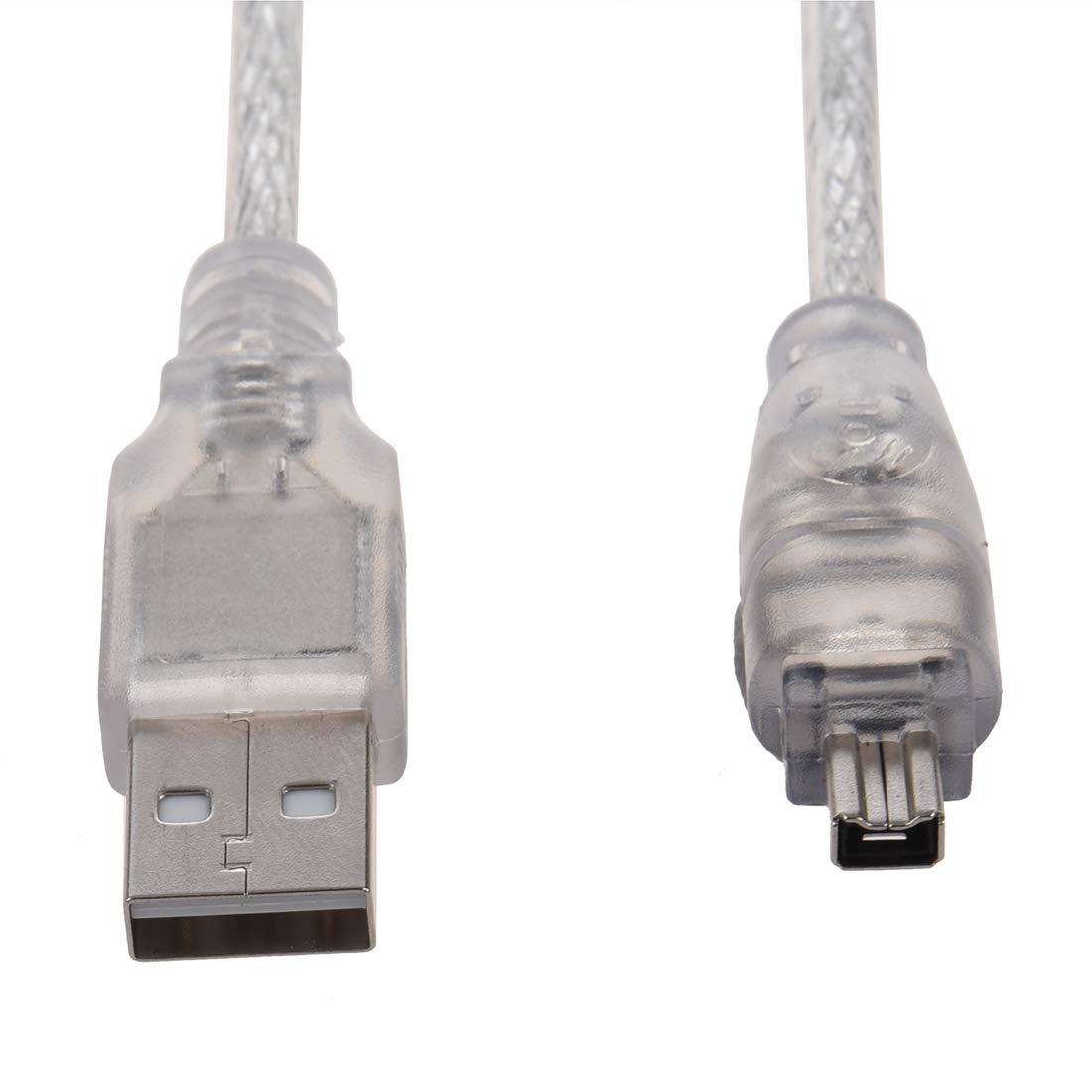 Semoic 4 ft metri Cavo di prolunga USB 2.0 a IEEE 1394 firewire 4 pin per Fotocamera o videocamera digitale