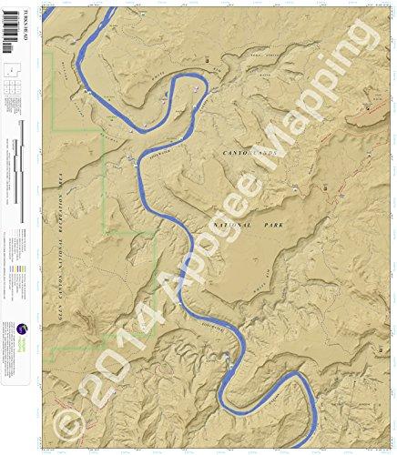 Turks Head, Utah 7.5 Minute Topographic Map - Waterproof Paper ebook