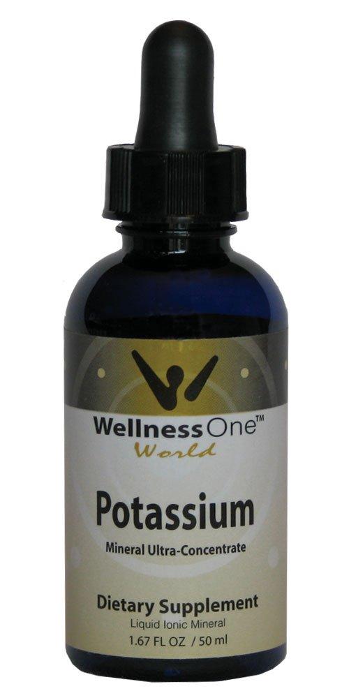 Potassium - Premium Liquid Ionic Mineral (100 days at 50 mg Per 10 Drop Serving) 50 ml bottle