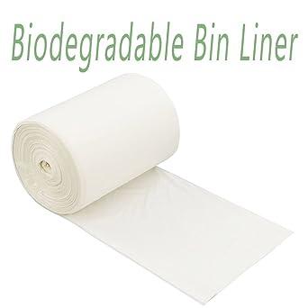 Rollo de 40 x biodegradables bolsas de basura/bolsas de ...