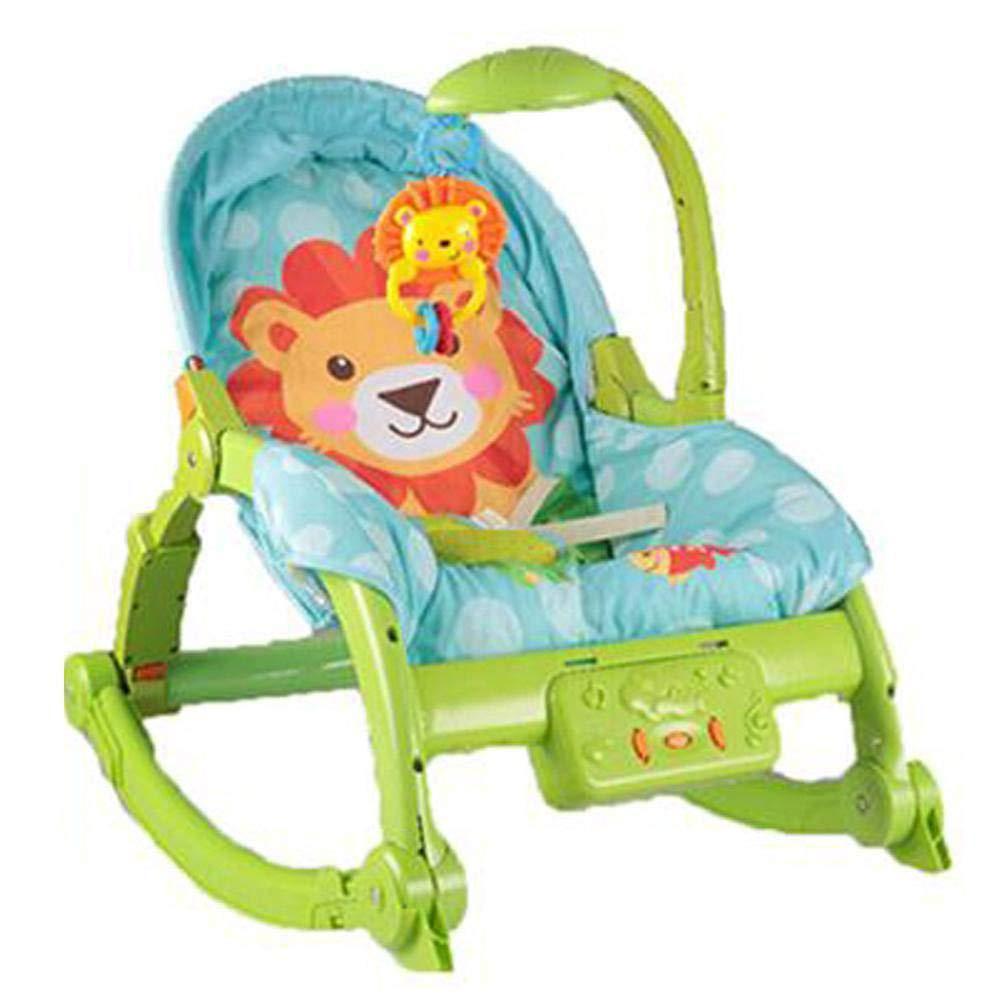silla mecedora para bebé con música