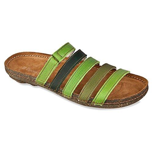 El Naturalista Donna N327 Torcal Sandalo Con Scivolo Verde