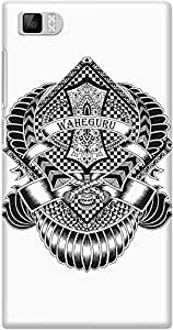 DailyObjects Khanda Tattoo Case For Xiaomi Mi3