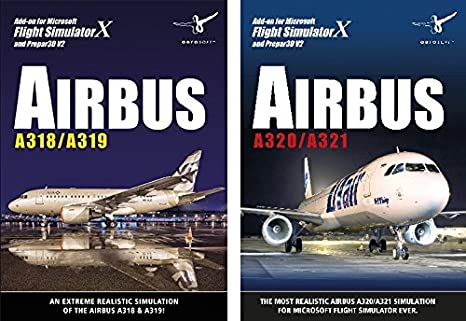 Airbus Bundle - A318 / A319 / A320 / A321 - for Microsoft