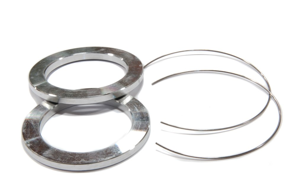 57.1mm OD to 54.1mm ID Circuit Performance Black Plastic Polycarbonate Hub Centric Rings
