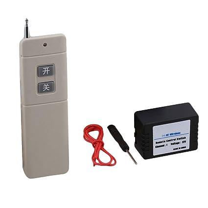 Interruptor remoto de 12 V con mando a distancia de 433 MHz ...