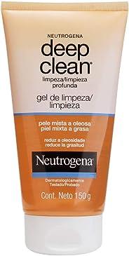 Gel de Limpeza Profunda Deep Clean, Neutrogena, 150g