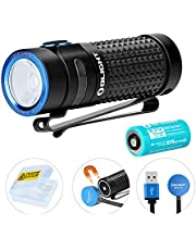 Olight S1R Baton II Max 1000lm Compact Rechargeable EDC Torch Light Single IMR16340 Powered LED Flashlight Torch for Camping Hiking