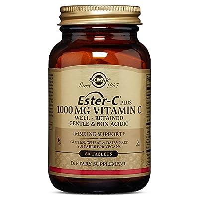 Solgar - Ester-C Plus Vitamin C (Ester-C Ascorbate Complex) 1000 mg Tablets