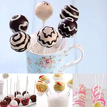 DECORA 20-Cavity Silicone Mold with 20 pcs Sticks for Cake Pop,Hard Candy and Party Cupcake SYNCHKG129412