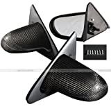 96-00 Honda Civic 2/3DR EK Spoon Carbon Fiber Manual Side Mirrors