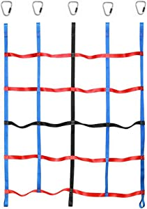 letsgood Climbing Cargo Net, Outdoor Play Sets & Playground Equipment for Ninja Line, Jungle Gyms, Swing Set, Ninja Warrior Style Obstacle Courses