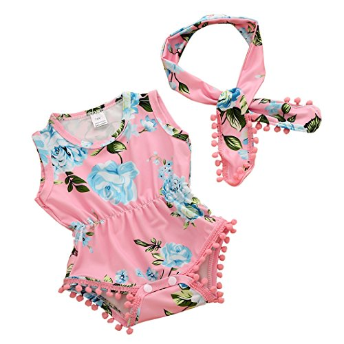 MIOIM Floral Headband Sunsuit Outfits