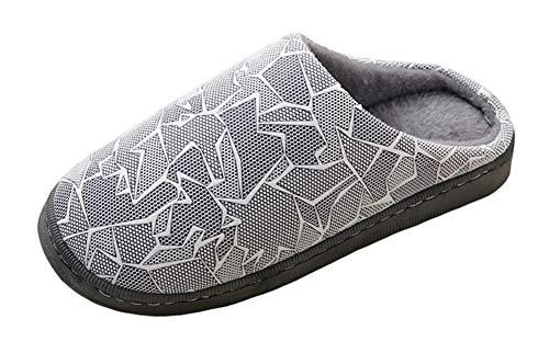 Casa Scarpe Calde Inverno Pantofole Antiscivolo Donna Da Icegrey Grigio HY7wx