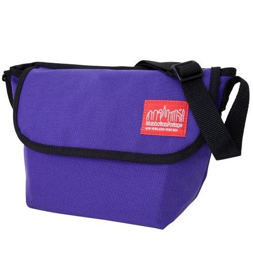 Manhattan Portage Mini NY Messenger Bag, Purple