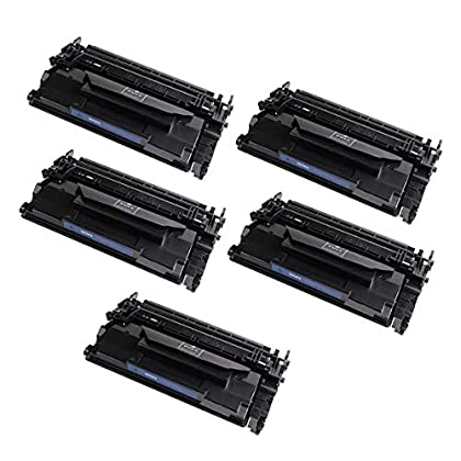 Image of Accessory Kits Amsahr CF287A HP th-CF287A M506dn M506n Compatible Replacement Toner Cartridges with Five Black Cartridges Toner