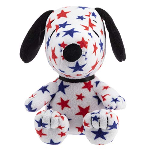 Hallmark Snoopy Stuffed Animal with Red & Blue -
