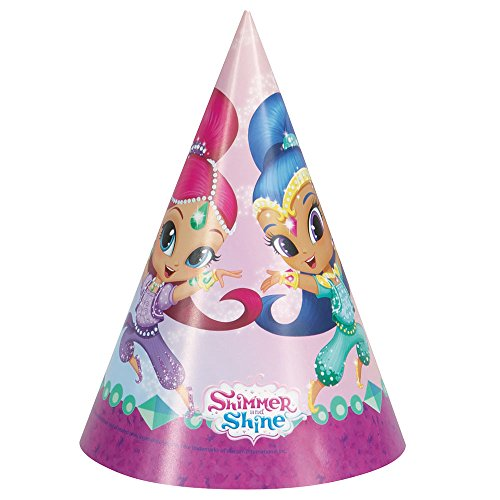 Shimmer and Shine Party Hats, -