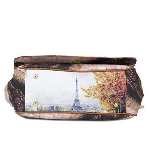 Borsa Y Not tracolla Parigi Tour Eiffel - J333