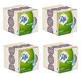 tissue boxes - Puffs Plus with Lotion Facial Tissue, 4 Cubes 56 2-PLY Tissues Per Box