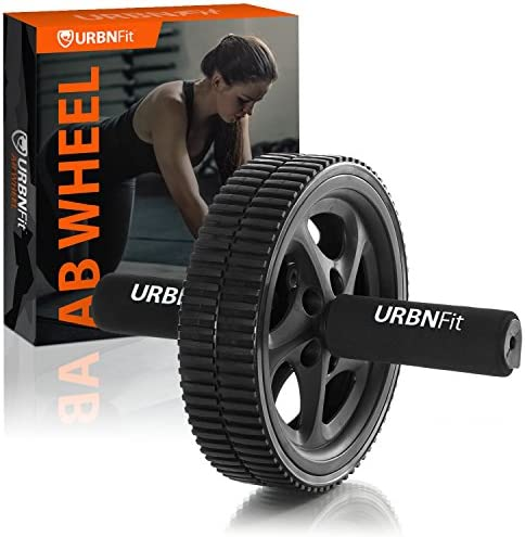 URBNFit Ab Roller – Abdominal Exercise Toning Wheel – Get 6 Pack Abs