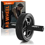 URBNFit Ab Roller - Abdominal Exercise Toning Wheel - Get 6 Pack Abs