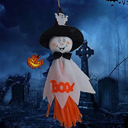 Cibeat Halloween decortions, Halloween Ghost Hanging Decoration Indoor/Outdoor