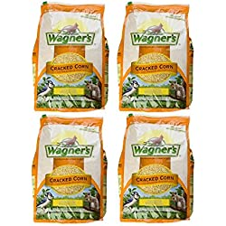 Wagner's 18542 Cracked Corn 4 Pack