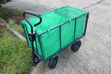 Heavy Duty Folding Garden Trolley Sack Barrow Up To 22kg