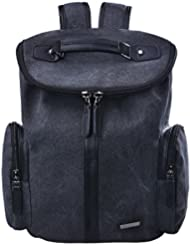 Douguyan Unisex Fashion Backpack Casual Rucksack Backpacks Fit for 15.6 Tablet