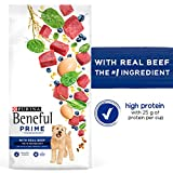Purina Beneful High Protein Dry Dog Food, Prime wi...