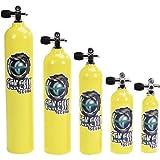 Catalina Pony Bottle Tanks, Yellow with Pro Valve