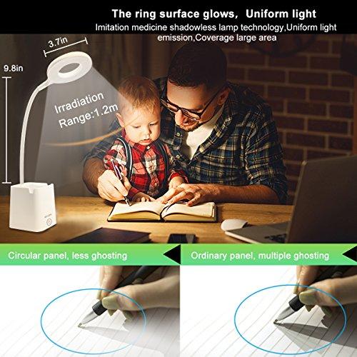 led-Desk-Lamp-Table-Lamps-with-Shelves-Holder-USB-Charging-Port