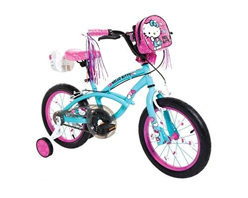 Dynacraft 8054-66ZTJ Girls Hello Kitty Bike Light Blue/Pink/Black 16-Inch [並行輸入品] B07BV7TTHF